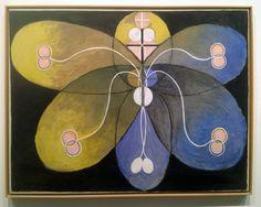 Hilma af Klint: Group VI, No. Evolution, 101 × cm, Oil on canvas. Piet Mondrian, Wassily Kandinsky, A4 Poster, Poster Prints, Tantra Art, Hilma Af Klint, Eye Illustration, Arte Popular, Vintage Artwork