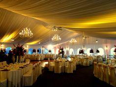 The Grandview outdoor ballroom overlooking the Hudson River. HourglassLighting.com
