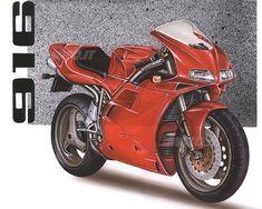 Intervista a Massimo Tamburini - News - Moto. Ducati 916, Ducati Superbike, Ducati Motorcycles, Motorcycle Design, Used Parts, Motorbikes, Honda, Sketches, Vehicles