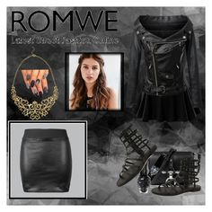 """Romwe"" by tjoyreeves1 ❤ liked on Polyvore featuring Doublju, Chicnova Fashion and REGALROSE"