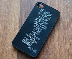 Life Inspiring Quote iPhone Case  For Apple iPhone by theCaseCafe