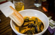 NOSE DIVE's Angry Drunken Mussels