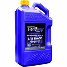 Royal Purple 51530 API-Licensed SAE 5W-30 High Performance Synthetic Motor Oil - 5 qt. Royal Purple http://www.amazon.com/dp/B005SEJTUA/ref=cm_sw_r_pi_dp_UGQivb04SXNB1