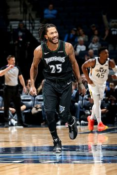 719f932a0dd9 NBA Derrick Rose 50 points game vs Utah Jazz 10-31-18 Derrick Rose