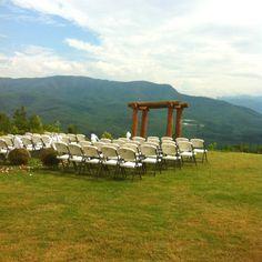Beautiful Wedding venue - Almost Heaven Resort, Gatlinburg, TN.