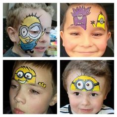 Daddy Cool!: Το face painting της αποκριάς μόνο για αγόρια βήμα βήμα.ΒΙΝΤΕΟ και ΕΙΚΟΝΕΣ