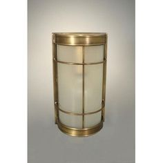 Northeast Lantern Nautical Medium 1 Light Flush Mount Finish: Dark Antique Brass, Shade Type: Frosted