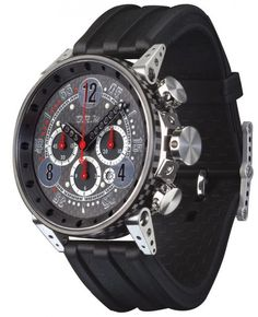 B.R.M. Watches V18-48-TN Black Hands #360-image-yes #bezel-fixed #bracelet-strap-rubber #brand-b-r-m-watches #case-material-titanium #case-width-48mm #chronograph-yes #clasp-type-tang-buckle #date-yes #delivery-timescale-1-2-weeks #dial-colour-black #gender-mens #luxury #movement-automatic #official-stockist-for-b-r-m-watches #packaging-b-r-m-watch-packaging #subcat-brm-v18-48 #supplier-model-no-v18-48-tn-cap-arn #warranty-b-r-m-watches-official-2-year-guarantee #water-resistant-30m