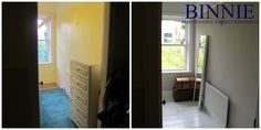Before and After Binnie Maintenance and Refurbishment Ltd. Refurbishment, Projects, Furniture, Home Decor, Restoration, Log Projects, Blue Prints, Decoration Home, Room Decor