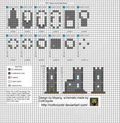 Minecraft floorplans by ColtCoyote on DeviantArt