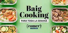 Baigcooking: aquí tienes el menú para la semana del 15 de junio Pasta Fagioli, Weekly Menu, Green Beans, Vegetables, Cooking, Food, Risotto, Zucchini Salad, Chickpea Curry