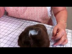 Part 9 Making a Jointed Fur Teddy Bear - Stuffing the Head