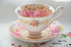 Serena Royal Albert bone china England tea cup