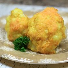 """Curry and Cheese Cauliflower 
