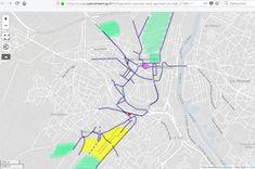 Carte mentale interactive (Saint-Germain-en-Laye) - Quentin LEFEVRE