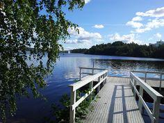 Jyväsjärvi in Jyväskylä #Finnland