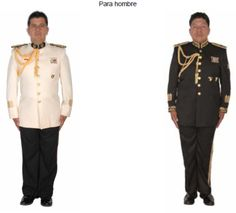 Uniforme de gala de generales y oficiales del Ejército Mexicano / Mexican Army officers and generals' mess dress uniform