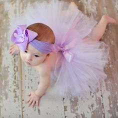 Zilly Bean Lavender Infant Solid Tutu. Pale lavender tutu with satin ribbon tie. See More Tutus And Pettiskirts at http://www.ourgreatshop.com/Tutus-And-Pettiskirts-C209.aspx
