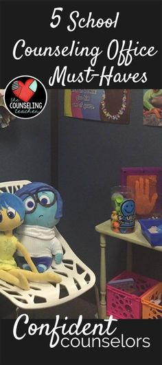 Every school counseling office needs these 5 essential items.  From the office walls to your desktop, what you put in your school counseling office sets the tone for your relationship with your students.