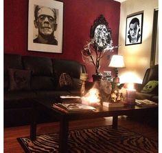 Skulls, Frankenstein, Dracula, home decor