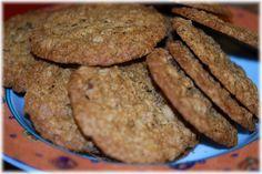 Rice Flour Oatmeal Cookies