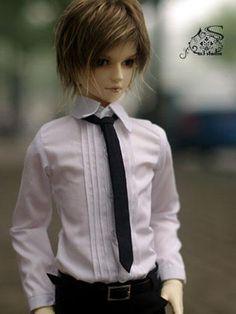ドール服 70cm/SD/MSD人形用  白いシャツ