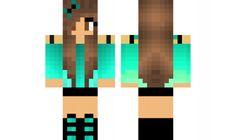 minecraft skin Cute-Girl-Edit-2