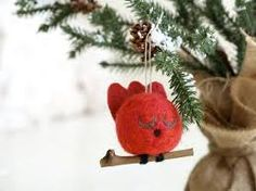 needle felted waldorf christmas ornaments - Buscar con Google