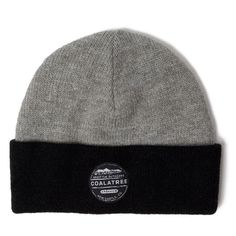 Coalatree New Castle Beanie in Grey/Black | United By Blue