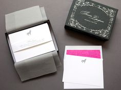 Gifts for Girls - our Unicorn Stationery is the perfect gift for any free-spirited girl! #sesameletterpress #stationery #unicorns