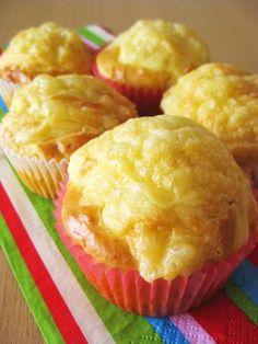 ハムとダブルチーズのマフィン by yaburie [クックパッド] 簡単おいしいみんなのレシピが270万品