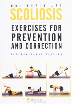 Com Scoliosis Exercises For Prevention And Correction Yoga Good Back Workouts, Lower Back Exercises, Fit Board Workouts, At Home Workouts, Workout Board, Yoga For Scoliosis, Scoliosis Exercises, Posture Exercises, Stretches