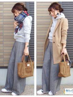 Fashion Tips Moda .Fashion Tips Moda Edgy Teen Fashion, Modest Fashion, Look Fashion, Korean Fashion, Autumn Fashion, Womens Fashion, Japanese Winter Fashion, Japan Fashion Casual, 80s Fashion