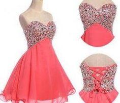 Short Prom Dresses, Prom Dresses, Beading Prom Dresses, Sweetheart Prom Dresses, Lace-up Prom Dresses, Sexy Prom Dresses, A-Line Prom Dresses, Custom Prom Dresses
