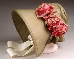 Bonnet, 1836-1840. Love it!! ~C