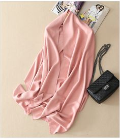 Europe Fashion Angelababy Same Design Scarf Pink 100% Cashmere Pashmina Scarf Wraps For Women #Affiliate
