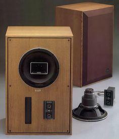 ALTEC LANSING 620B Monitor/718A Monitor \362,000(1台、1978年発売) Open Baffle Speakers, Horn Speakers, Monitor Speakers, Audio Speakers, Floor Standing Speakers, Diy Amplifier, Altec Lansing, Audio Design, Hifi Stereo