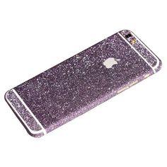 Purple Glitter iPhone 6 Plus / iPhone 6S Plus Full Body Sticker Wrap