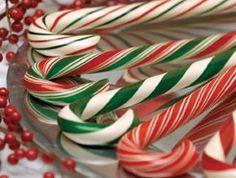 Beautiful Hammonds candy canes
