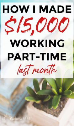 Looking for extra income? Here's how I made $15,031 last month... I started a blog to test if a stay at home mom could make money online blogging. It's been an amazing way to make extra income from home! #extraincome #startablog #therealisticmama Make Money Blogging, Saving Money, How To Make Money, Last Month, Online Blog, Family Organizer, Job Posting, Good Dates, Work From Home Jobs