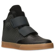 Men's Nike Air Flystepper 2K3 Casual Shoes - 644576 004   Finish Line   Anthracite/Black/Gum Light Brown