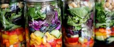 25 Salads in a Jar That Make Brown Bagging Fun