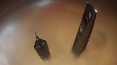 Two young guys climbed the Shanghai Tower metres) and filmed their bold experience with a GoPro camera. Shanghai Tower, Gopro Camera, Daredevil, Climbing, Two By Two, Guys, Viral Videos, Gopro Kamera, Mountaineering
