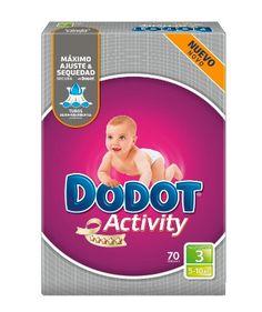 Pañales Dodot Activity en oferta por 50 euros (210 pañales) por tiempo limitado en Amazon España