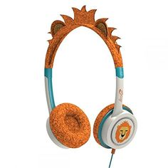 Introducing iFrogz IFLRCHOLI Little Rockers Costume Headphones Orange by iFrogz. Great Product and follow us to get more updates!