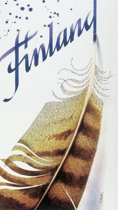 Finland-juliste, 1990-luku - Bruundesign - Tuotteet