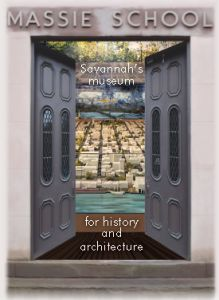 Learn about the history and inspiration behind Oglethorpe's pioneering city plan for Savannah at the Massie Heritage Center interactive exhibition space. Only 5 minute scenic stroll down to the other end of Gordon Street from our historic inn!