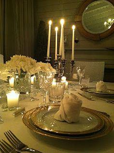 beautiful table settings..