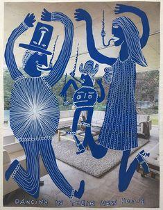 Tallest Dog, Baby Hands, Outsider Art, Naive, Folk Art, Carnival, Illustration Art, Artist, Artwork