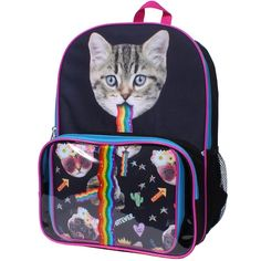 Leopard Blue Girls//Boys Preschool Toddler Backpack /& Lunch Box Set